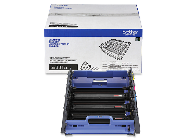 Brother DR331CL Tambor 25,000 PAGINAS P/HL8350/MFC8850/L9550CDW