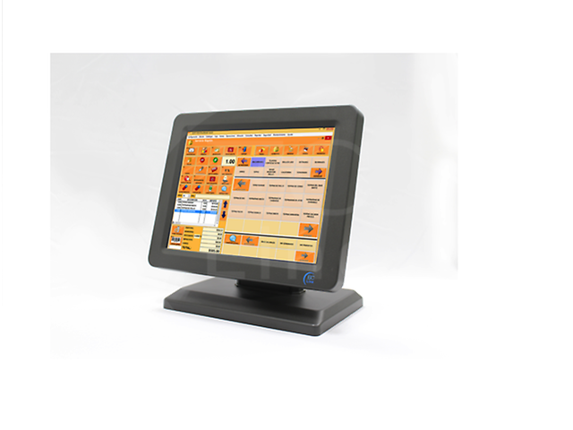 Ec Line Ec Ts 1210 Monitor Touch Screen Led 12pulg Tft Pos