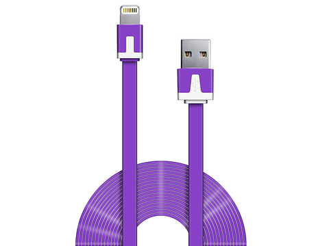 Ginga Cable Usb Carga Y Datos Iphone 5 Morado - ordena-com.myshopify.com