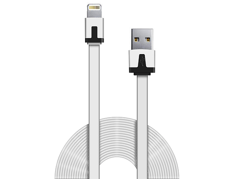 Ginga Cable Usb Carga Y Datos Iphone 5 Blanco - ordena-com.myshopify.com