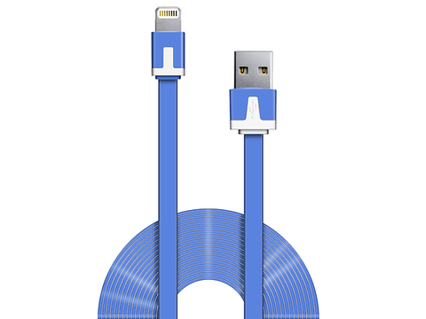 Ginga Cable Usb Carga Y Datos Iphone 5 Azul - ordena-com.myshopify.com