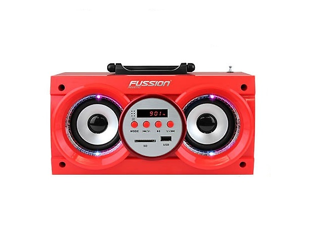 Fussion ISP-8504RD Bocina portail Bluetooth Roja