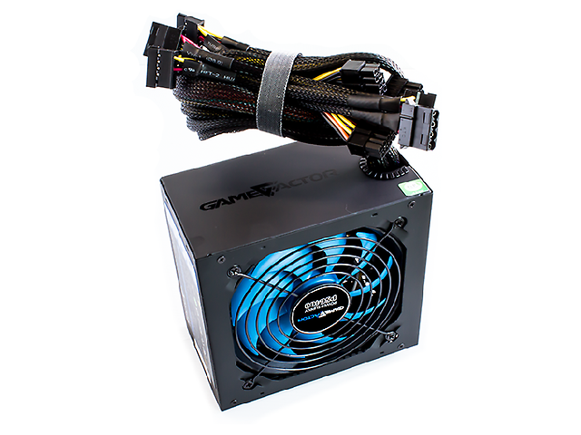 GAME FACTOR PSG400 Fuente de Poder 400WATTS 80 Plus Bronze