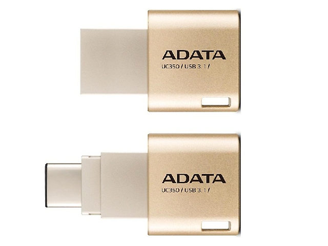 ADATA UC350 Memoria USB Flash 64GB USB 3.1 TIPO C Dorado