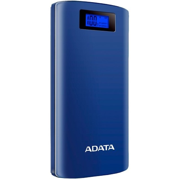 Adata P20000 D Cargador Portatil Digital Color Azul Oscuro
