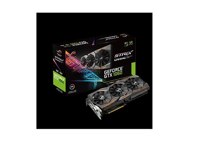 ASUS STRIX-GTX1060-O6G-GAMING TARJETA DE VIDEO