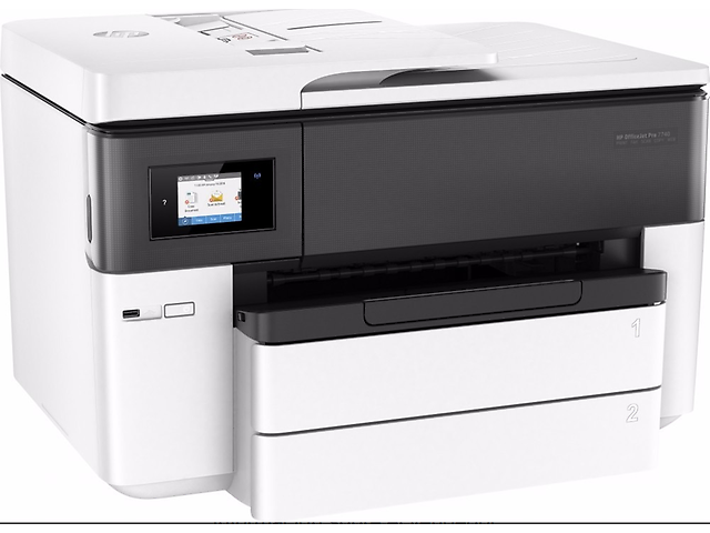Hp 7740 Multifuncional Officejet Color Wide Format   Aio - ordena-com.myshopify.com