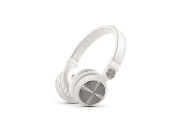 Acteck Energy Headphones Audifonos Dj2 Blanco Cable De Audio 3,5 Mm - ordena-com.myshopify.com
