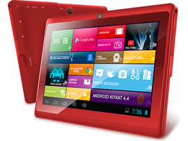 Zonar Titanium Tablet PC Quad core 8GB alm. 1GB RAM Roja