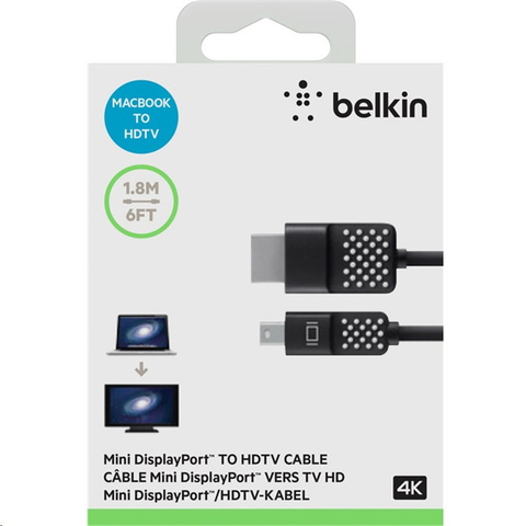 Belkin F2 Cd080 Bt06 Cabke Display Port Mini Display Port To Hdmi - ordena-com