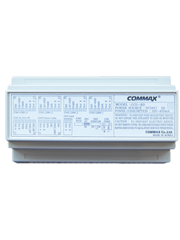 Distribuidor Commax Ccu204 Agf Para Panel De Audio 4 Intercom - ordena-com.myshopify.com