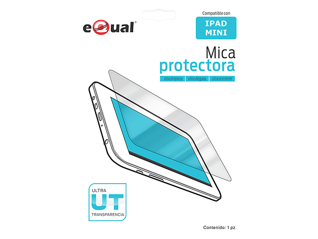 EQUAL Mica protectora para iPad Mini