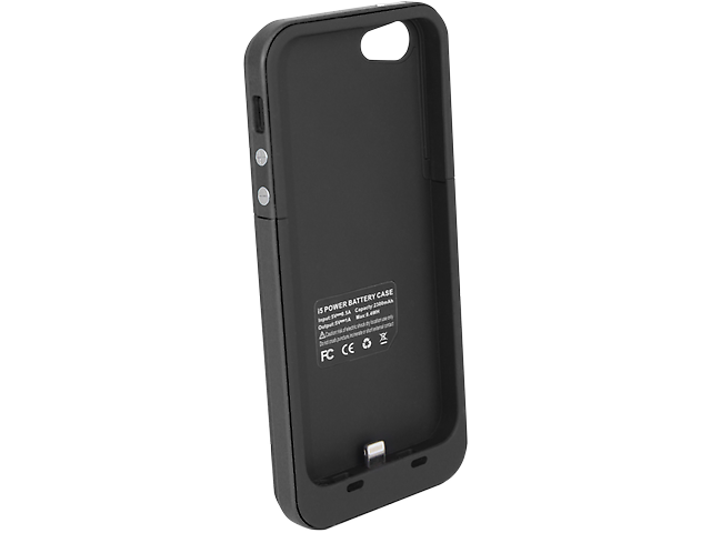 Funda Con Bateria Recargable Negro Iphone5