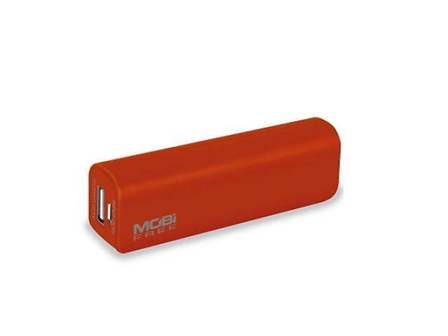 Mobi Free Mb 01059 Power Bank 2200 Mah 1 Puerto Usb Color Rojo