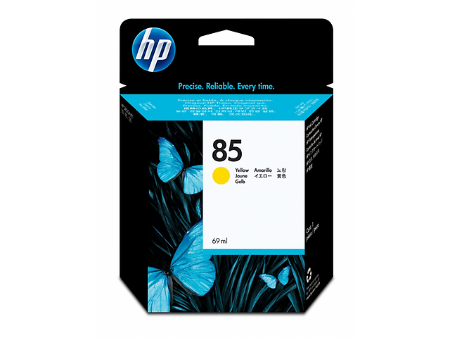 HP 85 Cartucho Amarillo 69ml C9427A