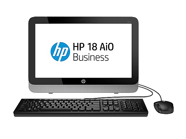 HP 18 AiO Business Computadora All In One 18.5 pulg Pentium J2900/4GB/500GB/W8.1