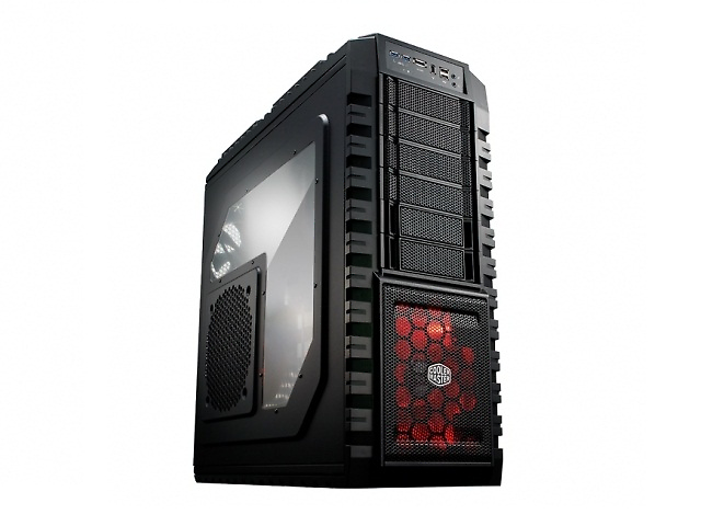 Cooler Master RC-942-KKN1 HAF X, ATX, Full-Tower, 2x USB 2.0, 2x USB 3.0, sin F
