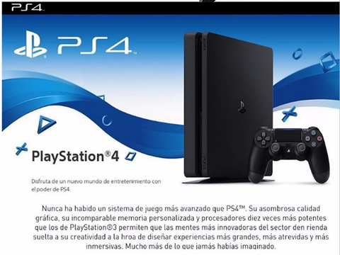 Sony 3002337 Ps4 1 Tb Slim Core En Caja Cuh 2115 B