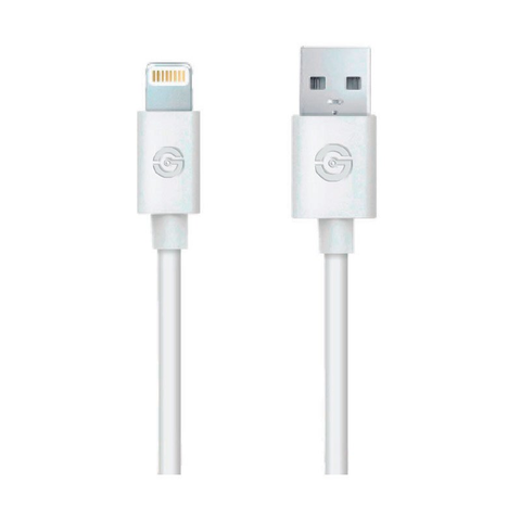 Getttech Jl 3570 Cable Usb A  Lightning 1.5 M, Blanco - ordena-com
