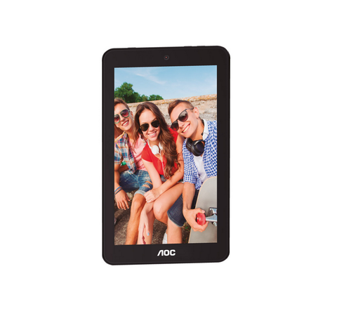 AOC A726 TABLET 7 IPS 1.3 GHZ QUAD CORE 1 GB RAM 8 GB DD CAM 0.3/2 MP Azul - ordena-com