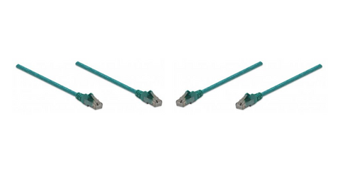 Intellinet  342490 Cable Patch Cat 6 2.0 M 7.0 F Utp Verde