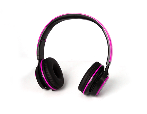 Getttech Gh 3100p Diadema Headset Sonority 3.5mm Mic Rosa