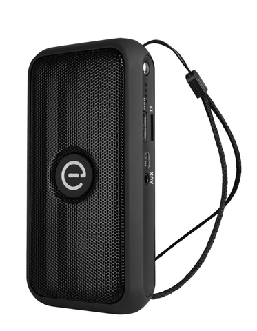 Easy Line El 994558 Bocina Bluetooth Portátil, Lámpara Y Power Bank, Negro - ordena-com