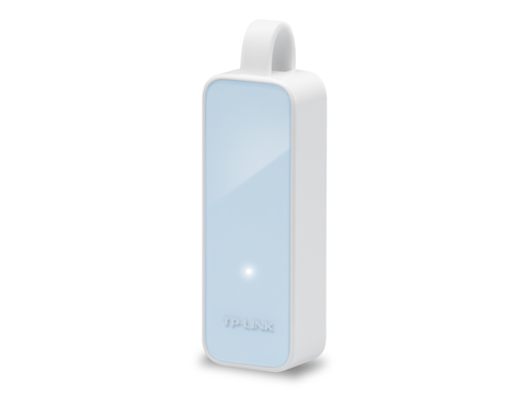 Adaptador De Red Tp Link Ue200 Usb 100 Mbps Color Blanco - ordena-com