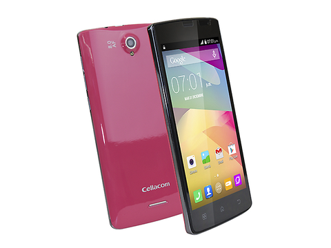 Cellacom T707 Smartphone Android 4.4 4 Gb Rojo