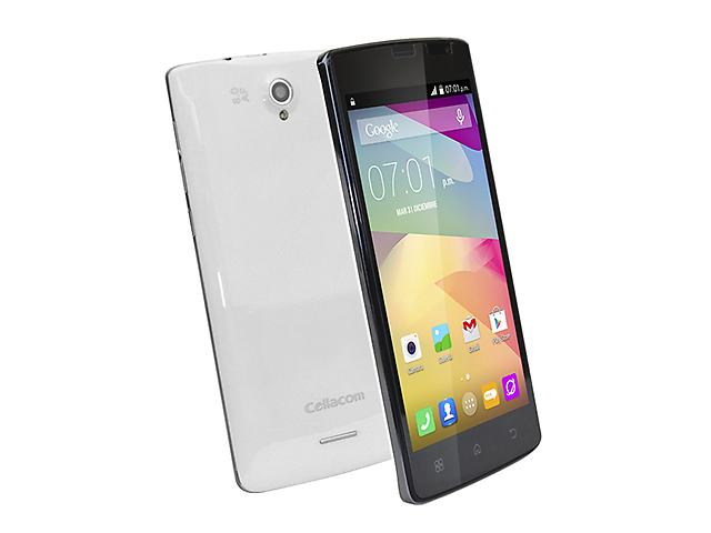 CELLACOM T707 Smartphone Android 4.4 4GB Blanco