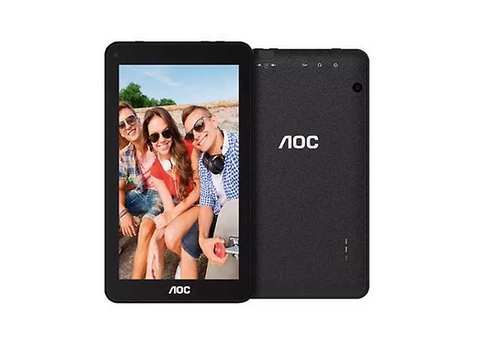 Aoc A726 Tablet De 7p Ips 1.3 Ghz Quad Core 1 Gb Ram 8 Gb Dd Cam 0.3/2 Mp Negra - ordena-com