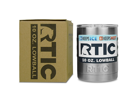 Rtic Low Ball Termico C/ Tapa 10 Oz Color Acero Inoxidable - ordena-com.myshopify.com