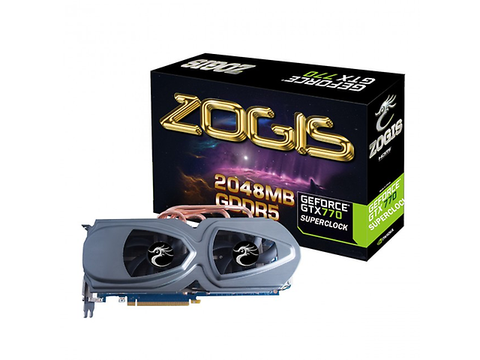 Zogis Zogtx770 2 Gd5 Sc, Tarjeta De Video Gtx770 256bit 2 Gb Gddr5 Pc Ie3 C - ordena-com