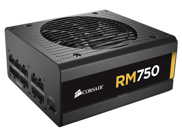 CORSAIR RM750 Fuente de Poder 750W 80 Plus Gold
