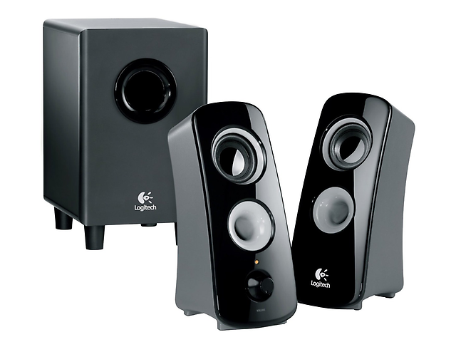 LOGITECH Z323 Bocinas con Subwoofer, 2.1 canales, 30W RMS, Negro