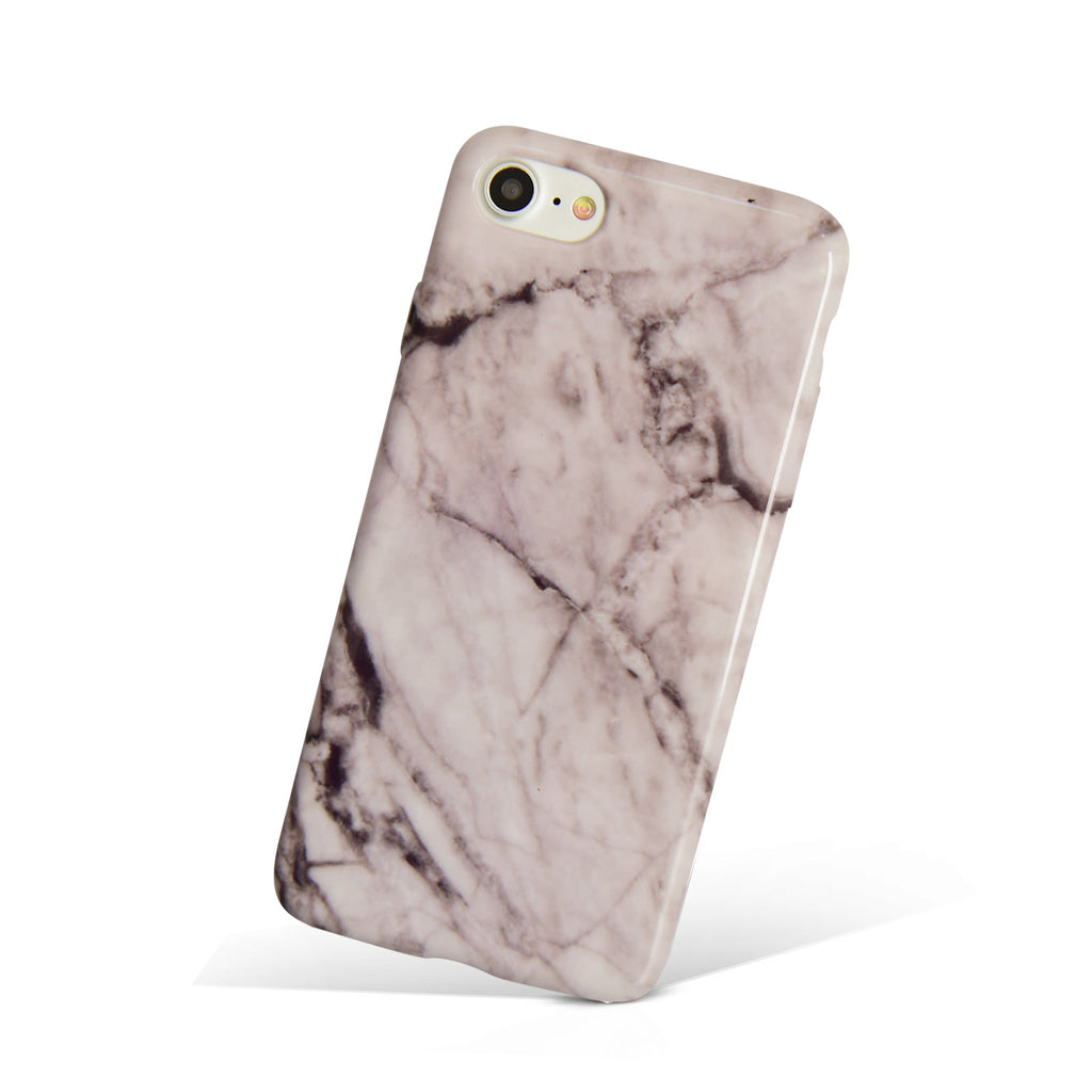 Gray Stone Marble iPhone Case