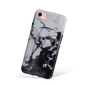 Dark Knight Marble iPhone Case