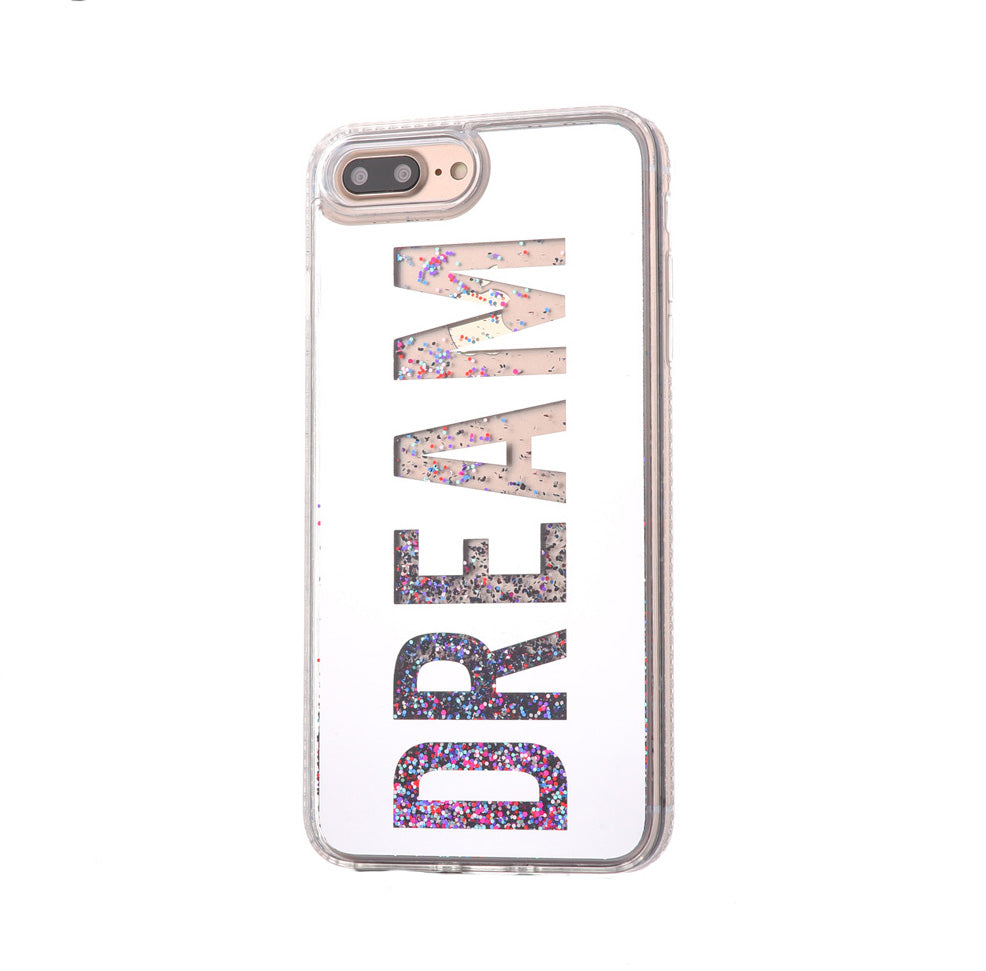 Glitter Pink Dream iPhone Case