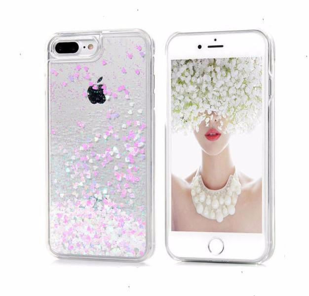 Glitter Pink Love iPhone Case