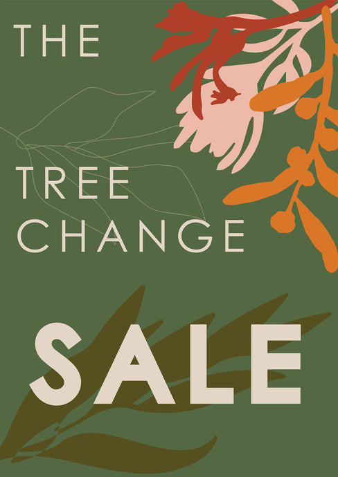 TREE CHANGE SALE ~ Bye Bye Fitzroy North Store