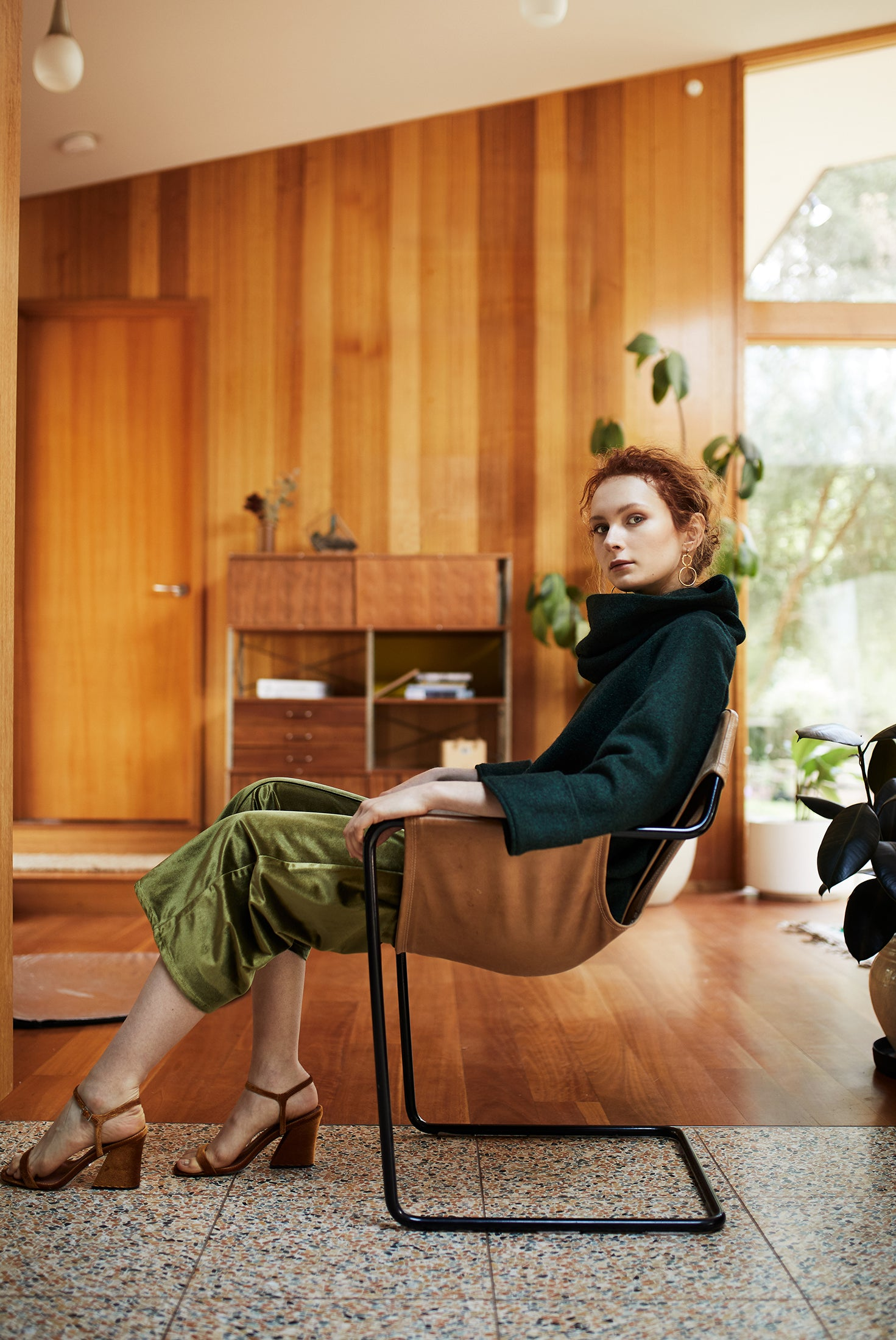 keegan AW19 Woodland Campaign Ethical Fashion Made in Melbourne Australia Alistair Knox House