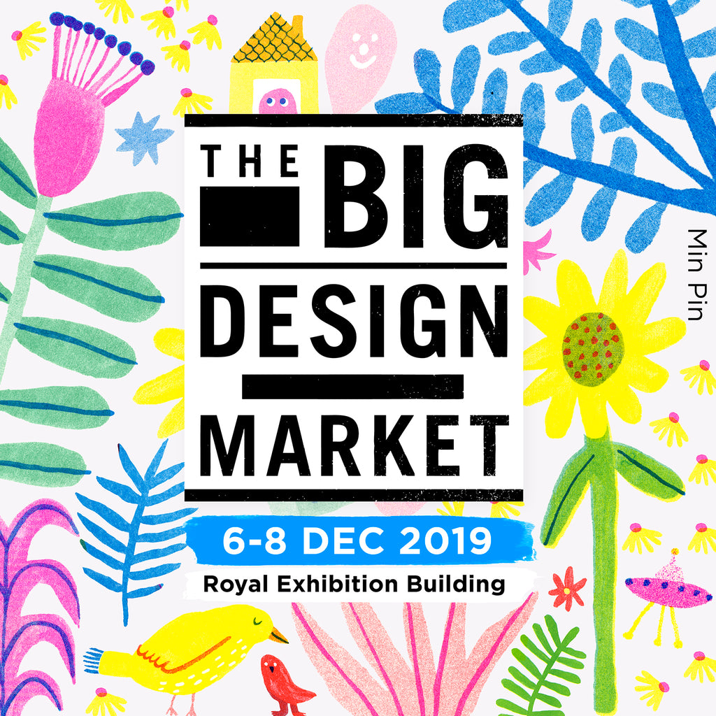 keegan at the big design market melbourne