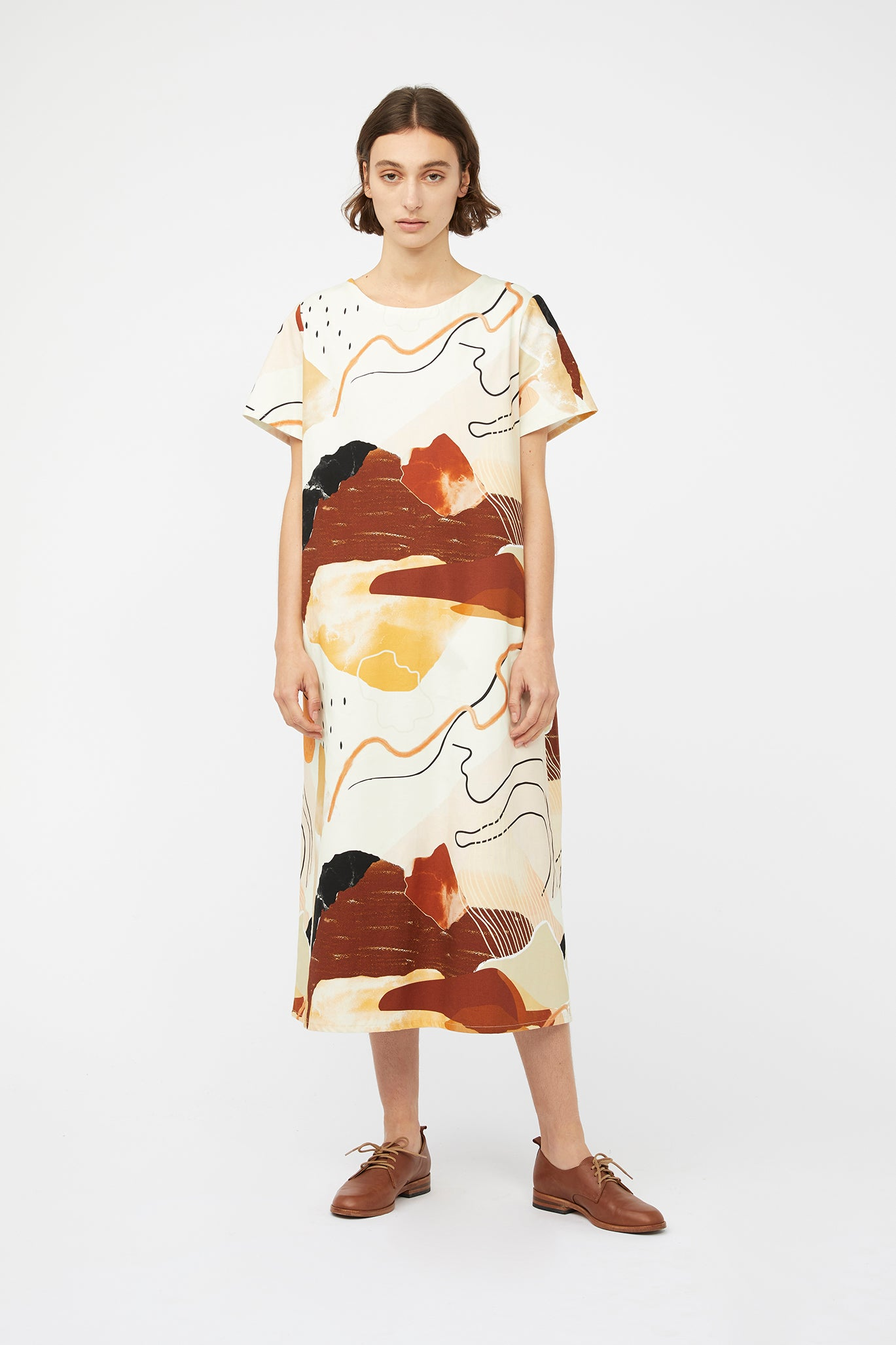 Keegan Desert Printed Dress Signature Clothing Collection