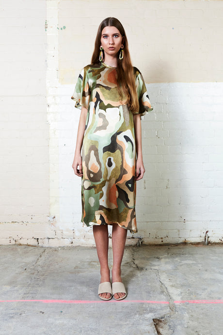 SPOTTED GUM DRESS
