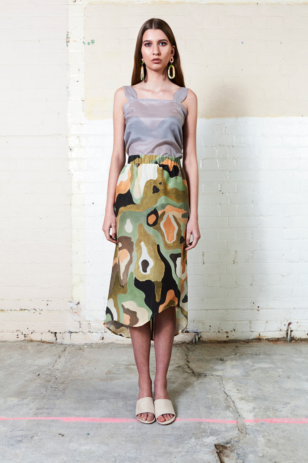 SPOTTED GUM SKIRT