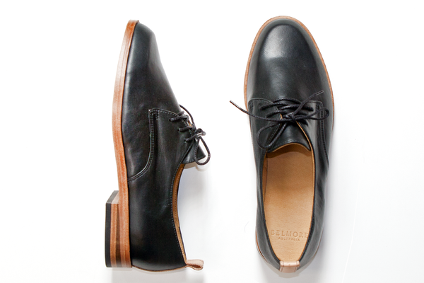 BELMORE SHOES [ DAINTREE / BLACK ]