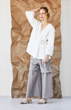LIMESTONE WRAP JACKET