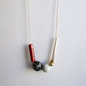 ZERO WASTE NECKLACE 0.3 [ STONE ]