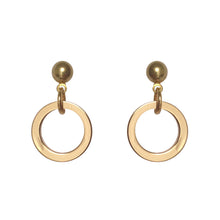 SML RING EARRINGS [ GOLD ]