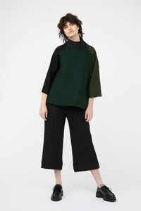 MOSAIC JUMPER [ GREEN / BLACK ]